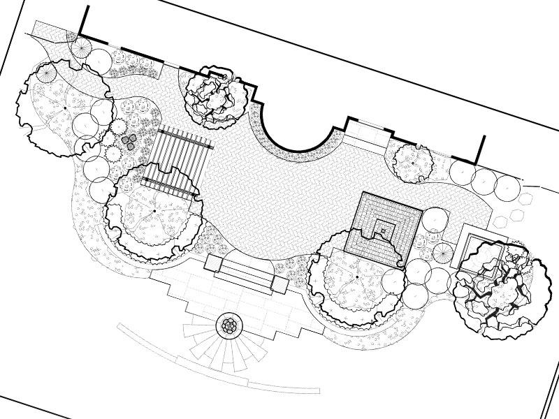 Free Landscape Design Blueprint