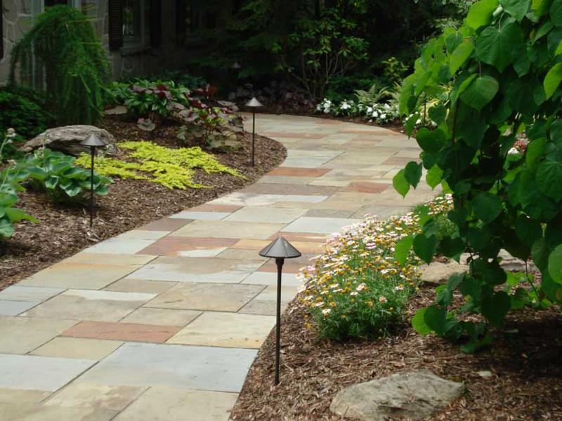Stone Walkway Design Stone Walkway