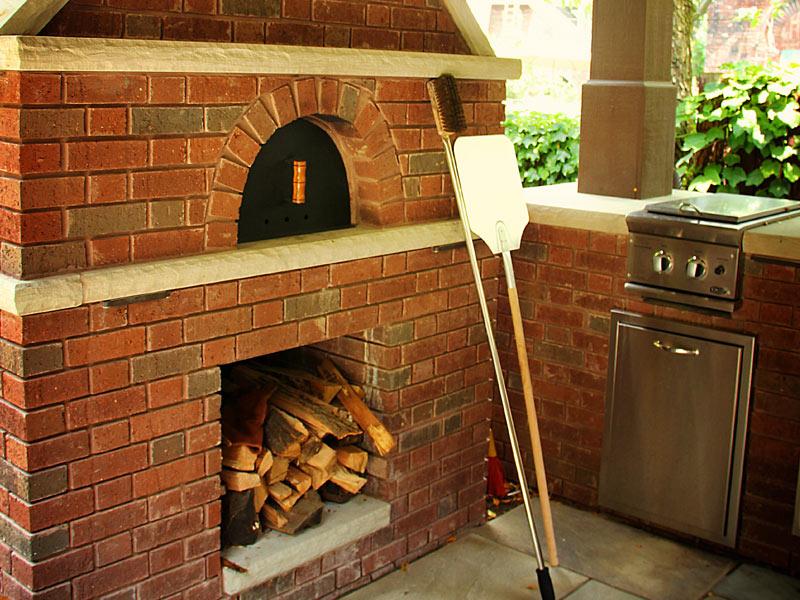 Outdoor Kitchen With Pavilion Cleveland Ohio Exscape Designs