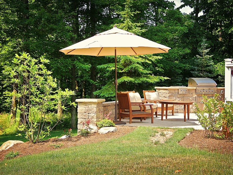 Backyard Outdoor Kitchen Ideas : Backyard Kitchen
