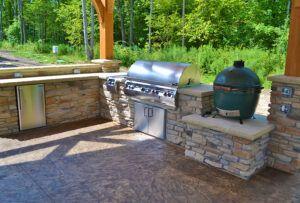 Exscape Designs Outdoor Kitchen