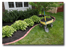 Mulching Plant Beds with Exscape Designs