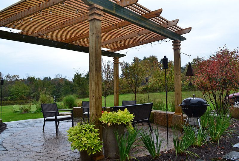 Outdoor Structures, Pavilions | Exscape Designs on Patio Structure Designs id=65471