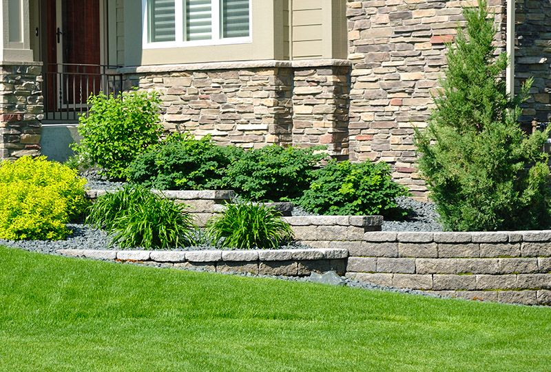 Retaining Wall Design Installation Cleveland Exscape