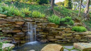 Wall-Mounted Echo Fountain